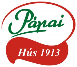 Pápai Hús logó