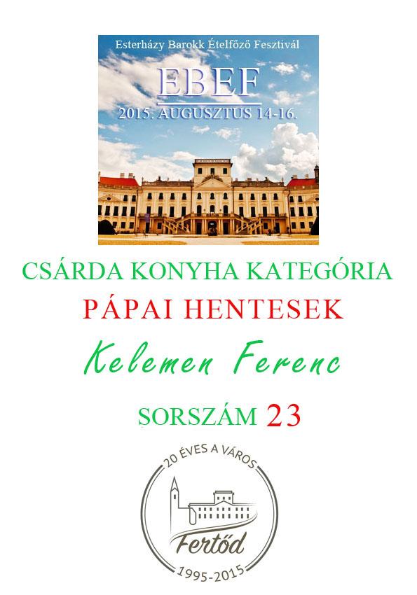 23.pápaihentesek